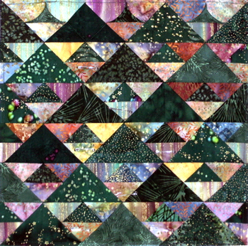 Unquilted Trees W