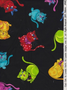 Cool Cats Fabric