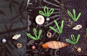 Aloha Kaimuki Shells Detail