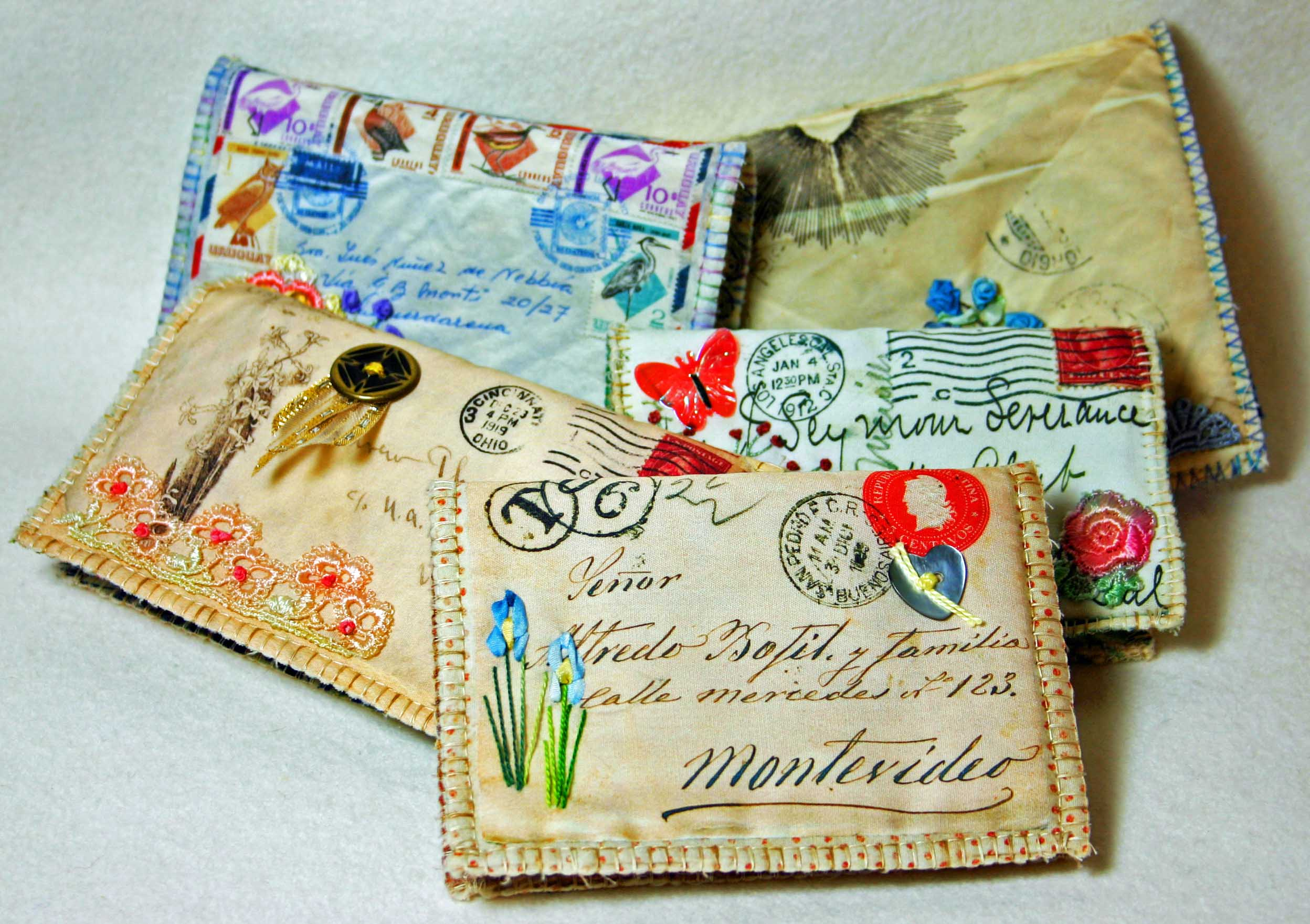 Открытки, открытки в виде конверта