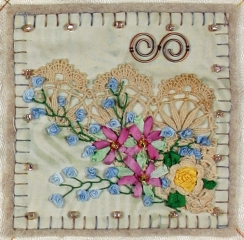 Embellishment Sampler Block 6