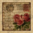 Rome Roses Fabric Print