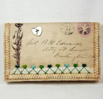 Vintage Envelope Needle Case 2015 002 F