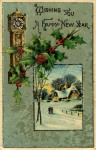 2016 Happy New Year 1914 Post Card