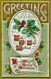 2015 Christmas 1914 Vintage Card